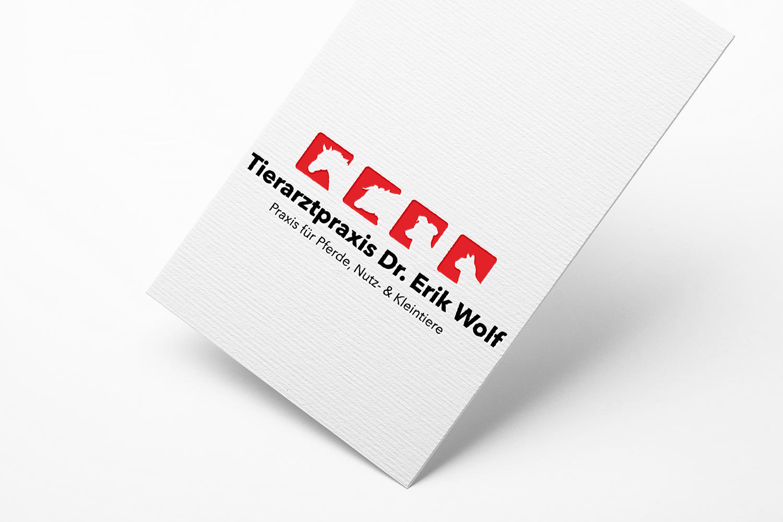 Logodesign Tierarztpraxis