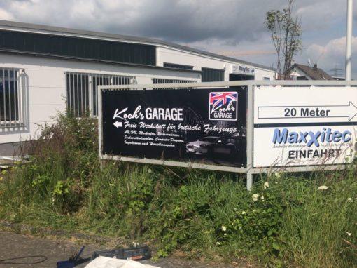 Banner Koch´s Garage