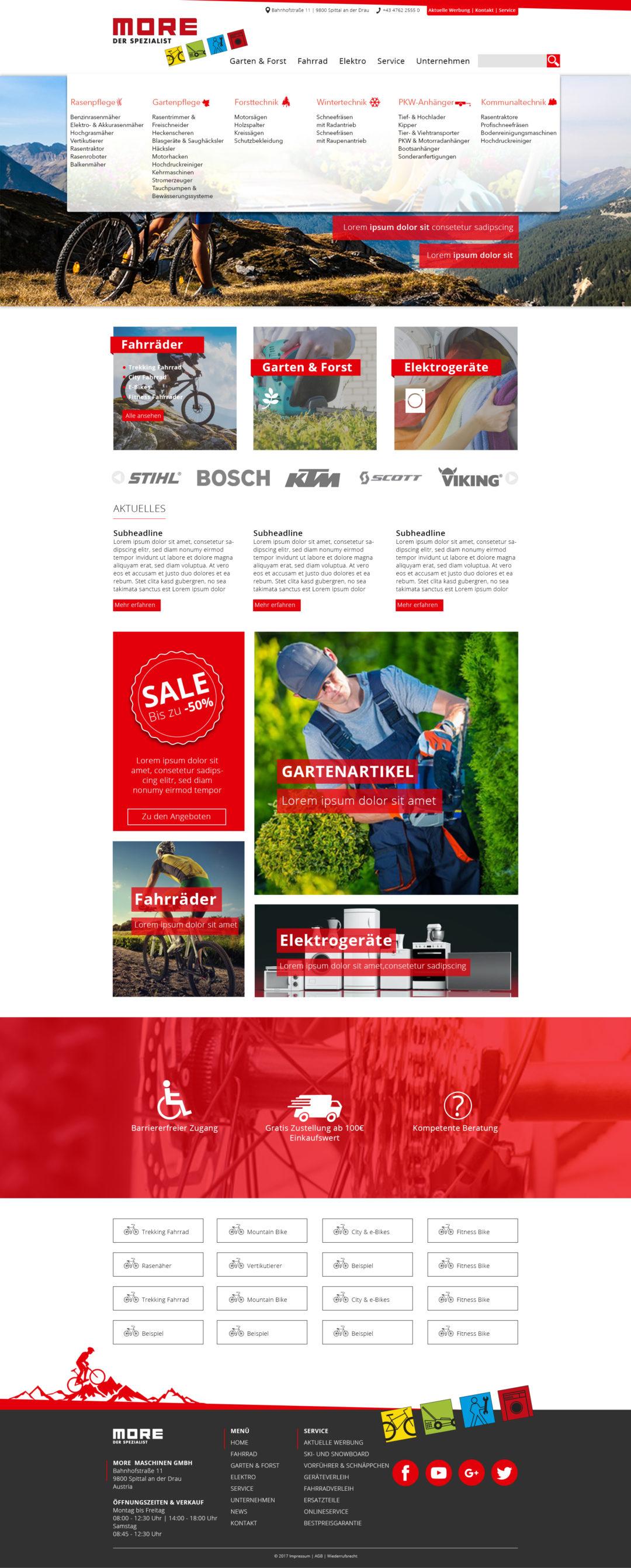Garten und Forst Webseite