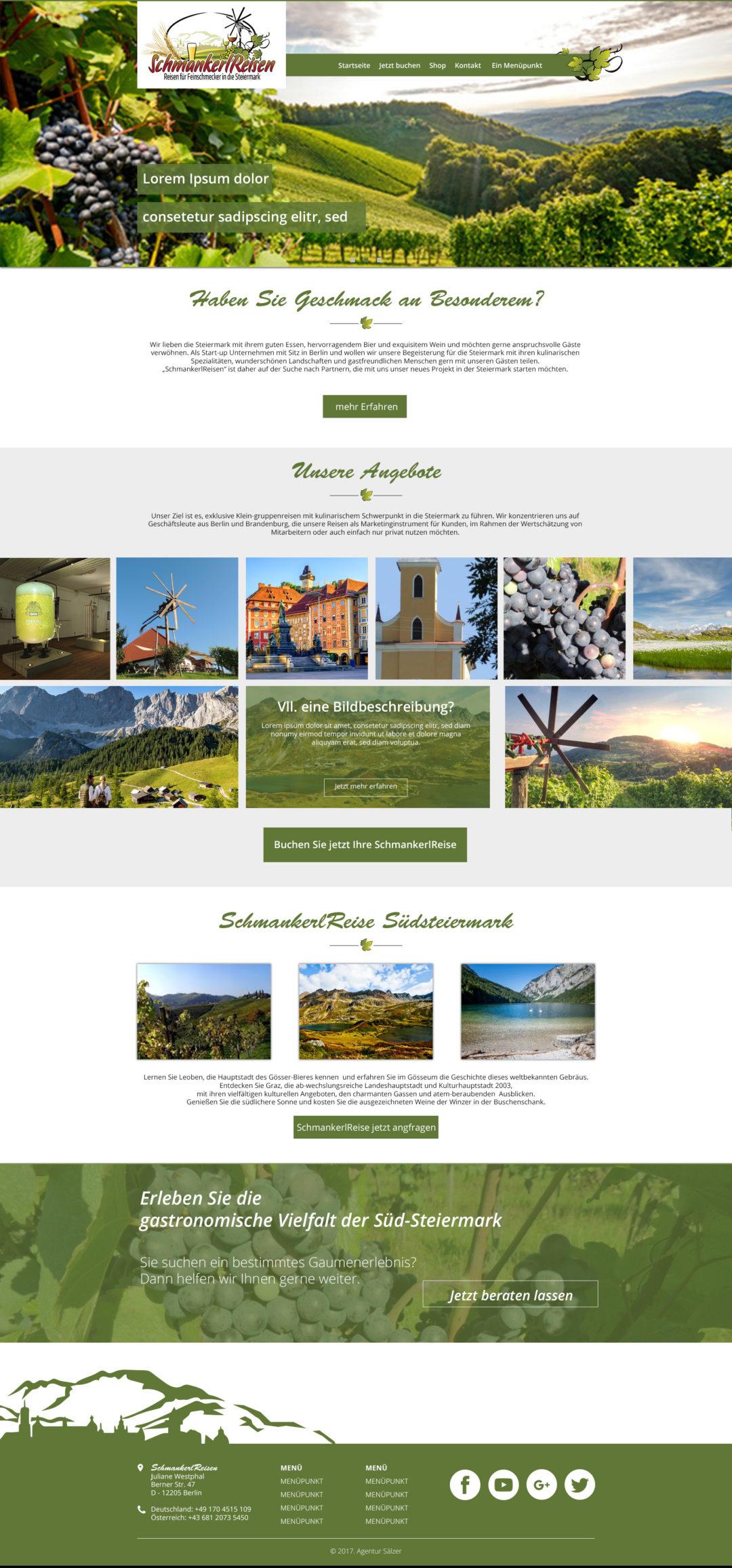 Design Schmanckerlreisen