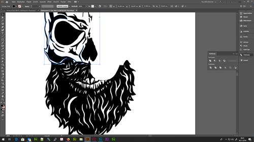 Nutzen des Messer-Werkzeuges im Adobe Illustrator