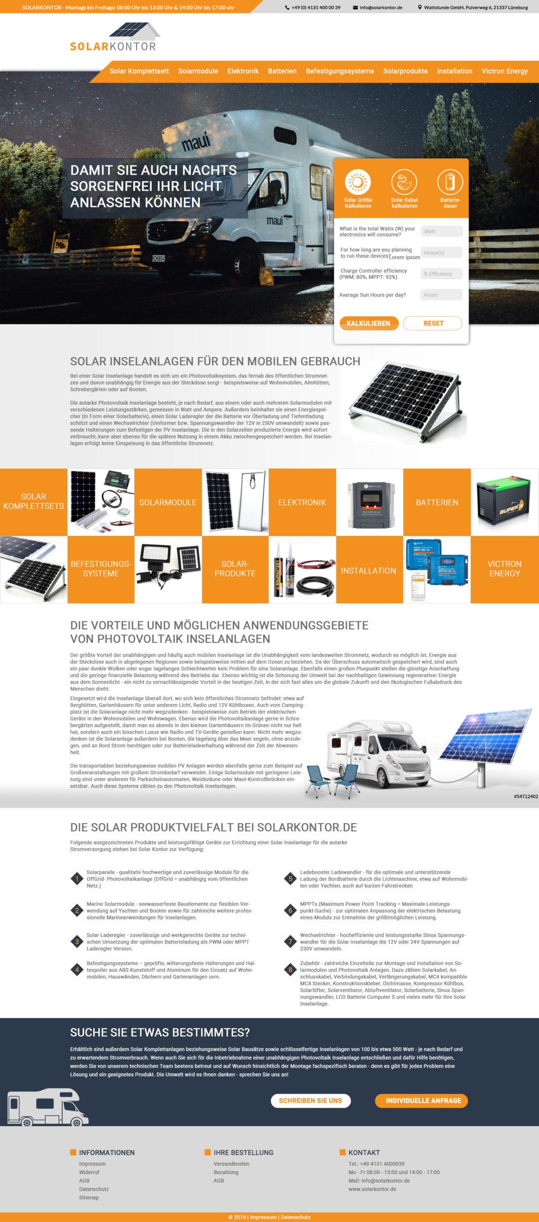 Solaranlagen Design