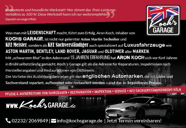 Anzeige Koch´s Garage